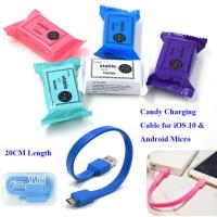 Jual Kabel Candy Usb Micro Powerbank 20Cm Cable Power Bank 20 Cm PERMEN Murah