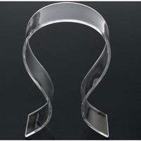Jual Stand Holder Display Headphone Headset Acrylic Universal - Transparan Murah