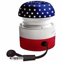 Jual Go-Rock American Mini Speaker (TRMS02MA) - Multi Warna Murah