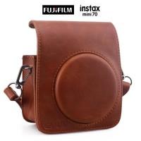 Jual Fujifilm Kamera Instax Mini 70 Camera Leather BAG Hanya Diskon Murah