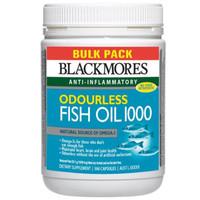 Jual obat herbal alami Blackmores Odourless Fish Oil 1000mg 500 kapsul Murah