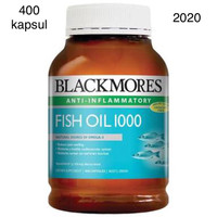 Jual obat herbal alami Blackmores Fish Oil 1000mg 400 caps original asli Murah