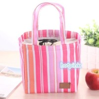 Jual NEW PRODUCT 9037 LUNCH BAG COOLER BAG SALUR  (BONUS 2PCS JELLY ICE Murah