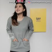 Jual TERLARIS Pocky Sweater Murah wanita atasan DISKON Murah