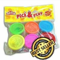 Jual fun doh pick & play - fun doh refill - mainan lilin - fun doh murah Murah