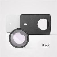Jual Ori Xiaomi PU Leather Case with UV Protective Lens for Yi II 4K-Hitam Murah