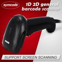 Jual Symcode MJ-6706DS 1D/2D Handheld Portable Barcode Scanner Murah