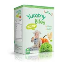 Jual MURAH Yummy Bites Baby Rice Crackers / Snack Bayi / Biskuit Bayi Murah