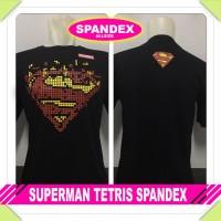 Jual SUPERMAN TETRIS SPANDEX Murah