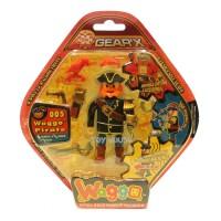 Jual Mainan Figure Lego Waggo Pirate Bisa Jalan Murah