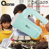 Hand Mixer Oxone CUTE OX-203 daya 200W harga distributor