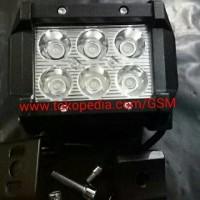 Harga lampu sorot led cree 6 mata lampu tembak kabut universal motor   antitipu.com