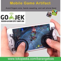 Jual Joystick Mobile Gamepad Fling Mini Joystick Gaming Mobile Legend 2 pcs Murah