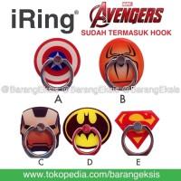 iRing HP/ Ring Holder / Cincin Hp / Stand iRing HP / Avengers - IRAVE