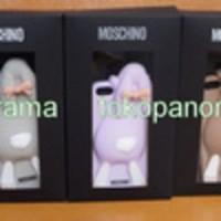 Casing Moschino Rabbit Kelinci HP Iphone 5 3D Case Sarung