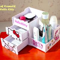 Jual Rak Kosmetik HELLO KITTY (Ada laciny, muat banyak kosmetik) Murah