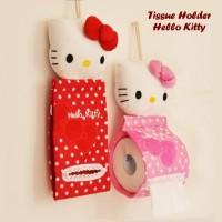 Jual Tempat Tissue Gulung Hello Kitty (Bahan boneka halus, bisa digantung) Murah