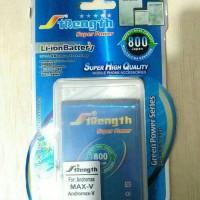 Jual batere batre double power smartfren andromax V merk STRENGTH Murah