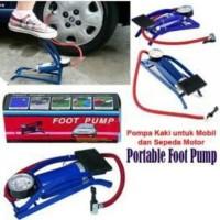 Jual Pompa Sepeda / Foot Pump Multipurpose / Pompa Injak Balon Murah