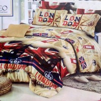 Jual #Sprei & Bed Cover Sprei Romeo ukuran 120 x 200 / No.3 - London Murah