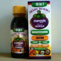 Jual MURAH Madu Kurma Manggis plus Propolis 10 in 1 Murah