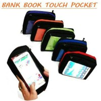 Jual DISKON MURAH Pocket Touch Bank Book Oragnizer Murah