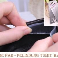 Jual DISKON MURAH Transparant Silicone Shoes Pad ( Shoe pad bahan Silikon  Murah