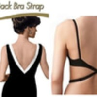 Jual DISKON MURAH Low Back Bra Strap - Tali Bra BH Backless pada baju gaun Murah