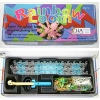 Jual PROMO MURAH COLORFUL RAINBOW LOOM BANDS STATER KITS (CHOONS DESIGN) B Murah