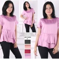 Jual Oma Fashion Becca Blouse Peplum Layer - 4 Warna - Size M Murah