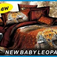 Jual Sprei Duo ( 2 in 1 ) Fata Signature Uk.120 X 200 Motif Baby Leopard Murah