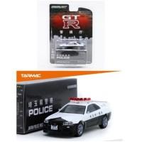 Jual Tarmac Works x Greenlight 1:64 Nissan GT-R R34 Japan Saitama Police Murah