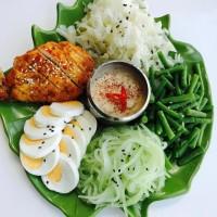 Jual Pecel Sate Ayam / Menu Selasa Minggu Pertama November 2017 Murah