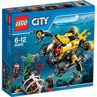 Jual Lego 60092 City - Deep Sea Submarine Murah