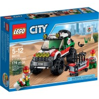 Jual Lego 60115 City - 4 x 4 Off Roader Murah