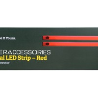 Jual Cooler Master Universal Single Color LED Strip - Red Murah