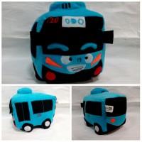 Boneka Bis TAYO Lucu / Boneka Tayo the Little Bus unik bisa buat kado