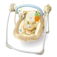 Jual Bright Starts Cotton Tale Portable Swing Beige - Ayunan Bayi  Murah
