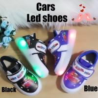 harga Sepatu Anak Laki Laki Cars Led Tokopedia.com
