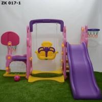 Jual Mainan ayunan prosotan - Labeille Panda Slide & Swing Sport Center Murah