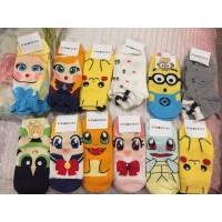 Kaos Kaki / Baby Socks / Socks / Pokemon Frozen Minions Sailormoon