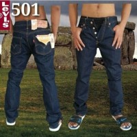 Levis 501 BLUE BLACK, Tag Label USA, Jeans Levis 501