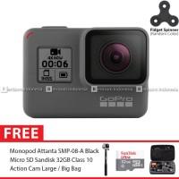 GoPro Hero6 / GoPro Hero 6 Black Combo Attanta Deluxe 32GB Spin