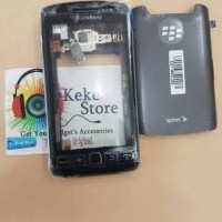 Casing Kesing BB BlackBerry Monza 9860 Original Fullset /Case Haousing