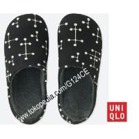 SANDAL RUMAH UNIQLO Room Shoes SPRZ NY EAMES 402358 hitam black