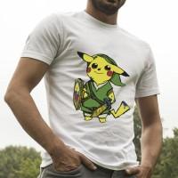 Jual pikachu zelda shirt Murah