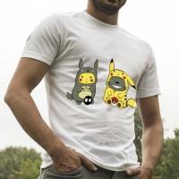 Jual pikachu totoro shirt Murah