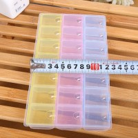 Jual Kotak Obat 3-Warna Polos (21 Kotak) Murah