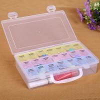 Jual Koper Obat 2-Tingkat 3-Warna (21 Kotak) Murah