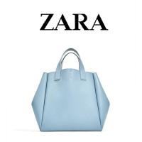 SAG4525#Blue | ZARA SOFT DOUBLE SIDED MINI TOTE BAG